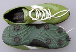 Chaussures de golf vertes. Source : http://data.abuledu.org/URI/50fc0d81-chaussures-de-golf-vertes