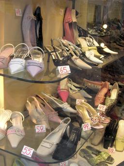 Chaussures féminines. Source : http://data.abuledu.org/URI/50295103-chaussures-feminines