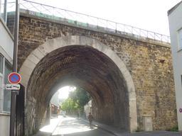 Chemin de fer de petite ceinture à Paris. Source : http://data.abuledu.org/URI/592f7a2d-chemin-de-fer-de-petite-ceinture-a-paris