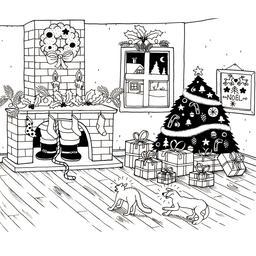 Cheminée de Noël. Source : http://data.abuledu.org/URI/52b4dceb-cheminee-de-noel
