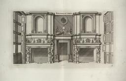 Cheminées intérieures du château de Madrid. Source : http://data.abuledu.org/URI/532ea3f9-cheminees-interieures-du-chateau-de-madrid