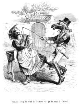 Cheval et jument. Source : http://data.abuledu.org/URI/53502641-cheval-et-jument