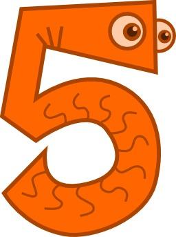 Chiffre cinq. Source : http://data.abuledu.org/URI/50f2e4b8-chiffre-cinq