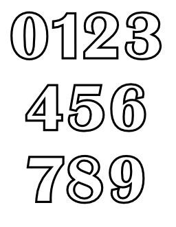 Chiffres de 0 à 9 à colorier. Source : http://data.abuledu.org/URI/5331336e-chiffres-de-0-a-9-a-colorier