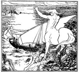 Chiron et les Argonautes. Source : http://data.abuledu.org/URI/53edf749-chiron-et-les-argonautes
