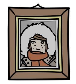 Chloé dans un cadre photographique. Source : http://data.abuledu.org/URI/5628da76-chloe-dans-un-cadre-photographique