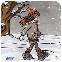 Chloé et la neige 02. Source : http://data.abuledu.org/URI/516b9c07-chloe-et-la-neige-02