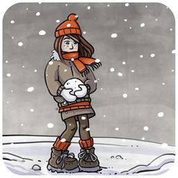 Chloé et la neige 03. Source : http://data.abuledu.org/URI/516b9cb3-chloe-et-la-neige-03
