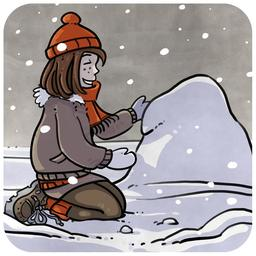Chloé et la neige 04. Source : http://data.abuledu.org/URI/516b9d9e-chloe-et-la-neige-04
