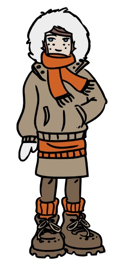 Chloé habillée pour l'hiver. Source : http://data.abuledu.org/URI/5628f52e-chloe-habillee-pour-l-hiver