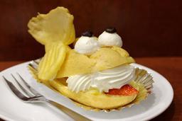 Chou à la crème japonais. Source : http://data.abuledu.org/URI/5351887f-chou-a-la-creme-japonais