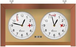 Chronomètre de jeux d'échecs. Source : http://data.abuledu.org/URI/520c02ea-chronometre-de-jeux-d-echecs