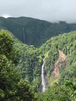 Chutes du Carbet en Guadeloupe. Source : http://data.abuledu.org/URI/5276a777-chutes-du-carbet-en-guadeloupe