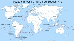 Circumnavigation de Bougainville. Source : http://data.abuledu.org/URI/52236449-circumnavigation-de-bougainville