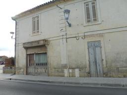 Ancienne charcuterie de Pujols/Ciron. Source : http://data.abuledu.org/URI/58dae64f-ancienne-charcuterie-de-pujols-ciron