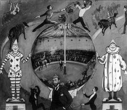 Cirque amateur en 1894. Source : http://data.abuledu.org/URI/54ee431b-cirque-amateur-en-1894