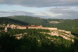 Citadelle de Besançon. Source : http://data.abuledu.org/URI/54a7f4cf-citadelle-de-besancon
