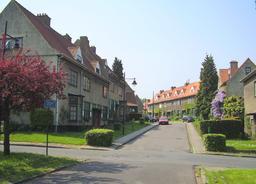 Cité-jardin à Bruxelles. Source : http://data.abuledu.org/URI/53b194b8-cite-jardin-a-bruxelles