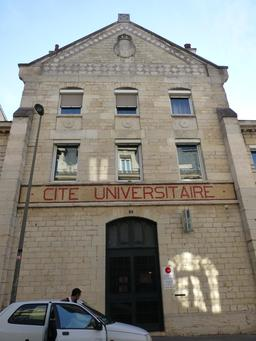 Cité universitaire à Dijon. Source : http://data.abuledu.org/URI/5820a5b6-cite-universitaire-a-dijon