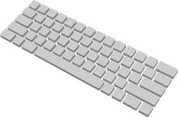Clavier vierge. Source : http://data.abuledu.org/URI/5435751c-clavier-vierge