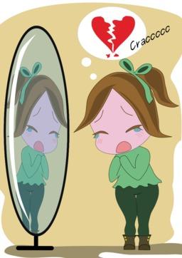 Cléandre se regarde dans son miroir. Source : http://data.abuledu.org/URI/54c6a37e-cleandre-se-regarde-dans-son-miroir