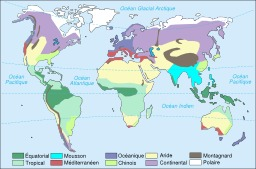 Climats dans le Monde. Source : http://data.abuledu.org/URI/518bec76-climats-dans-le-monde