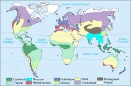 Climats du monde. Source : http://data.abuledu.org/URI/56c38958-climats-du-monde