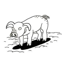 Cochon. Source : http://data.abuledu.org/URI/52d71a84-cochon