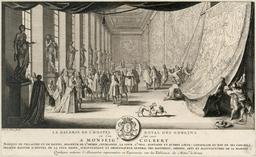 Colbert visitant les Gobelins en 1665. Source : http://data.abuledu.org/URI/548b58cf-colbert-visitant-les-gobelins-en-1665