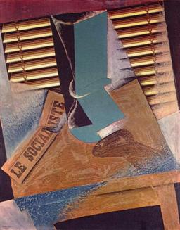 Collage de Juan Gris. Source : http://data.abuledu.org/URI/5332dc7e-collage-de-juan-gris