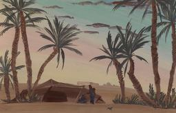 Colomb-Béchar en Algérie. Source : http://data.abuledu.org/URI/58851047-colomb-bechar-en-algerie