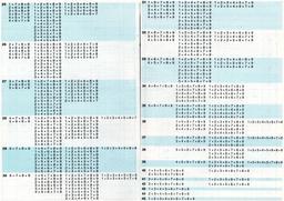 Combinaisons de nombres pour le jeu japonais du kakuro - 2. Source : http://data.abuledu.org/URI/52f7ee51-combinaisons-de-nombres-pour-le-jeu-japonais-du-kakuro-2