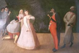 Commedia dell'arte. Source : http://data.abuledu.org/URI/51c14869-commedia-dell-arte