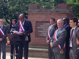 Commémoration de l'abolition de l'esclavage le 12 mai 2013. Source : http://data.abuledu.org/URI/533c3e11-commemoration-de-l-abolition-de-l-esclavage-le-12-mai-2013