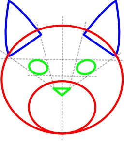 Comment dessiner un chat. Source : http://data.abuledu.org/URI/52ed85c6-comment-dessiner-un-chat