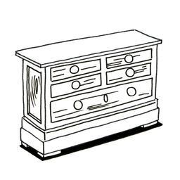 Commode en bois. Source : http://data.abuledu.org/URI/52d72313-commode-en-bois