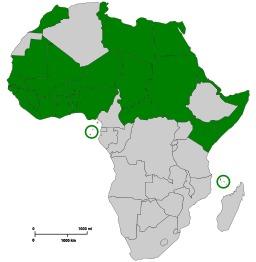 Communauté des Etats sahélo-sahariens. Source : http://data.abuledu.org/URI/52d2950d-communaute-des-etats-sahelo-sahariens