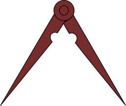 Compas en Héraldique. Source : http://data.abuledu.org/URI/52acd003-compas-en-heraldique
