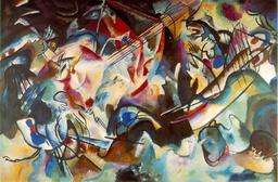 Composition de Kandinsky en 1913. Source : http://data.abuledu.org/URI/54d4923e-composition-de-kandinsky-en-1913