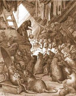 Conseil Tenu par les Rats. Source : http://data.abuledu.org/URI/519bf20e-conseil-tenu-par-les-rats