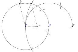 Construction au compas du milieu d'un segment. Source : http://data.abuledu.org/URI/50c4fa69-construction-au-compas-du-milieu-d-un-segment