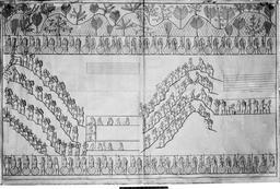 Construction d'un palais assyrien. Source : http://data.abuledu.org/URI/591ba916-construction-d-un-palais-assyrien