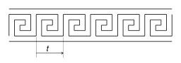 Construction géométrique d'une frise. Source : http://data.abuledu.org/URI/51803e6d-construction-geometrique-d-une-frise