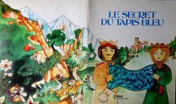 Contes d'ailleurs, le secret du tapis bleu. Source : http://data.abuledu.org/URI/5600efc2-contes-d-ailleurs-la-fiancee-du-nil
