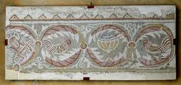 Coqs de la mosaïque de Madaba. Source : http://data.abuledu.org/URI/51eef3dd-coqs-de-la-mosaique-de-madaba