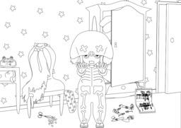 Coralie et Halloween - 04. Source : http://data.abuledu.org/URI/55a6ecb4-coralie-et-halloween-04