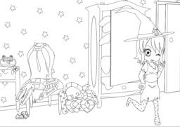 Coralie et Halloween - 06. Source : http://data.abuledu.org/URI/55a6ed6b-coralie-et-halloween-06