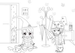 Coralie et Halloween - 07. Source : http://data.abuledu.org/URI/55a6edd2-coralie-et-halloween-07