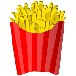 Cornet de frites. Source : http://data.abuledu.org/URI/504bade3-cornet-de-frites