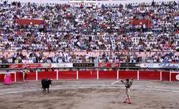 Corrida au Mexique. Source : http://data.abuledu.org/URI/53470b49-corrida-au-mexique